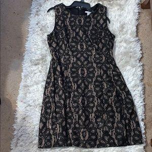 sparkle and shine  black dress